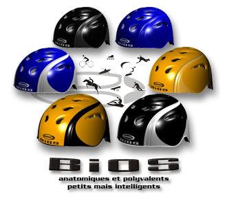 BiOS CARBONE - casque de protection anatomique et multisport pour vélo, roller, skateboard, sport extrême, cascades, kayak, escalade, parapente, paramoteur, sports de glisse, ski, skateboard, kitesurf, cheval et quad de randonnée